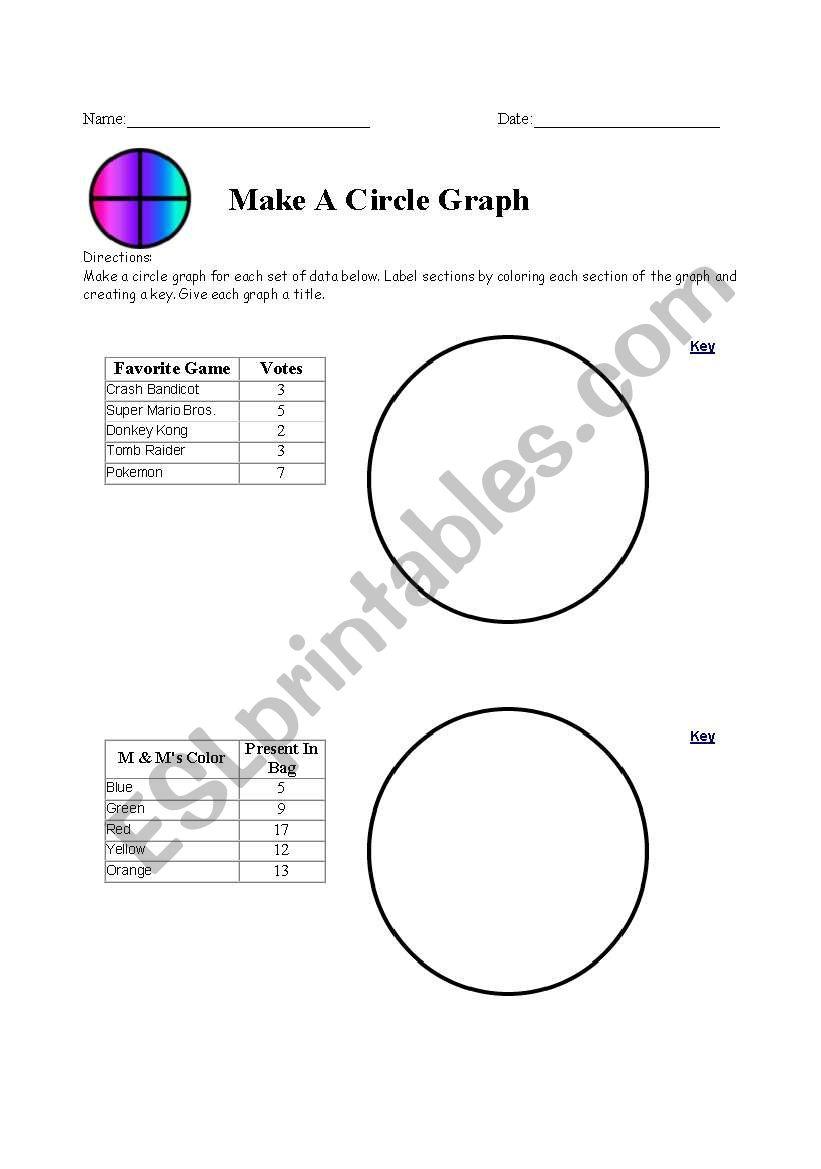 Worksheets Circle Graph Worksheets english worksheets circle graph worksheet