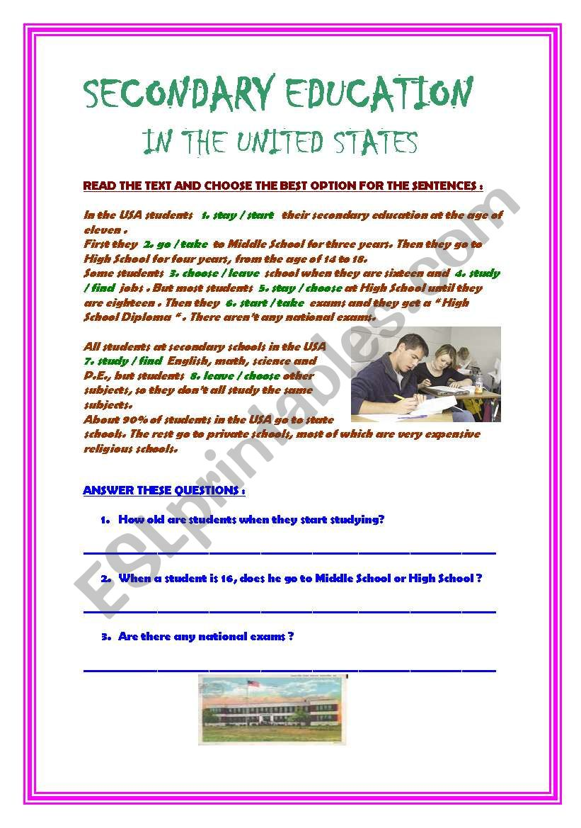 - Reading Comprehension Exercises - ESL Worksheet By Aliciapc