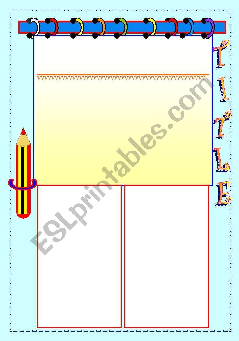 GRAMMAR TEMPLATE worksheet