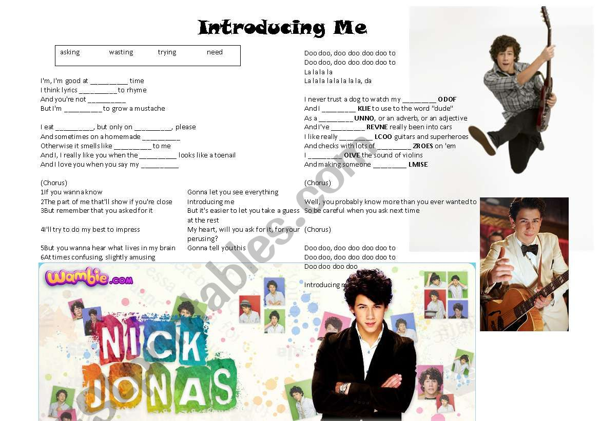 introducing me nick jonas descargar mp3