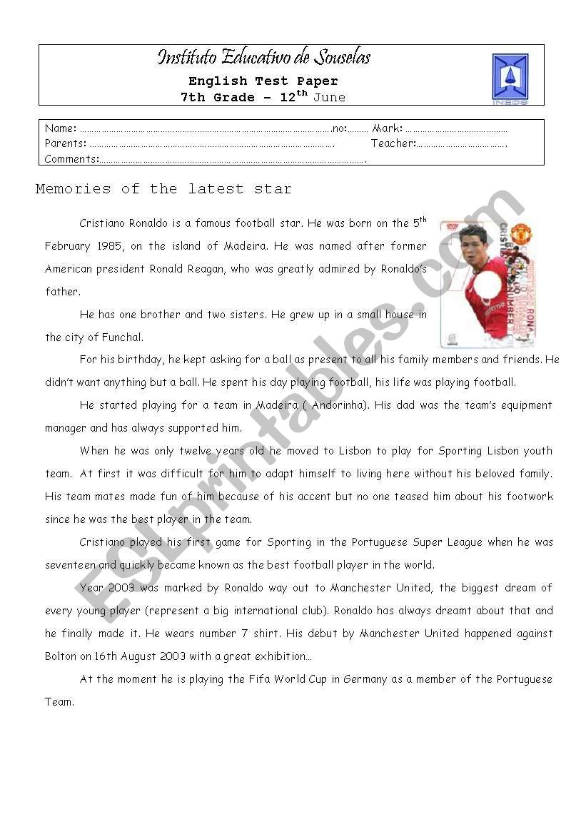 Worksheets Portuguese Worksheets english worksheets memories of the portuguese latest star star