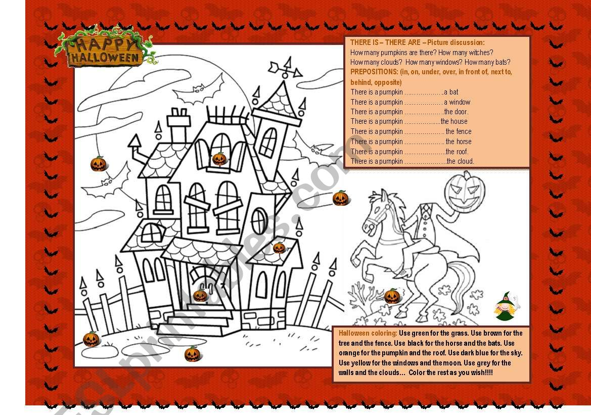 Halloween fun! worksheet