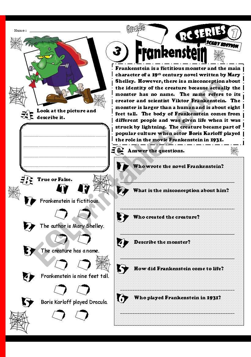 RC Series_Scary Edition_03 Frankenstein (Fully Editable + Key)