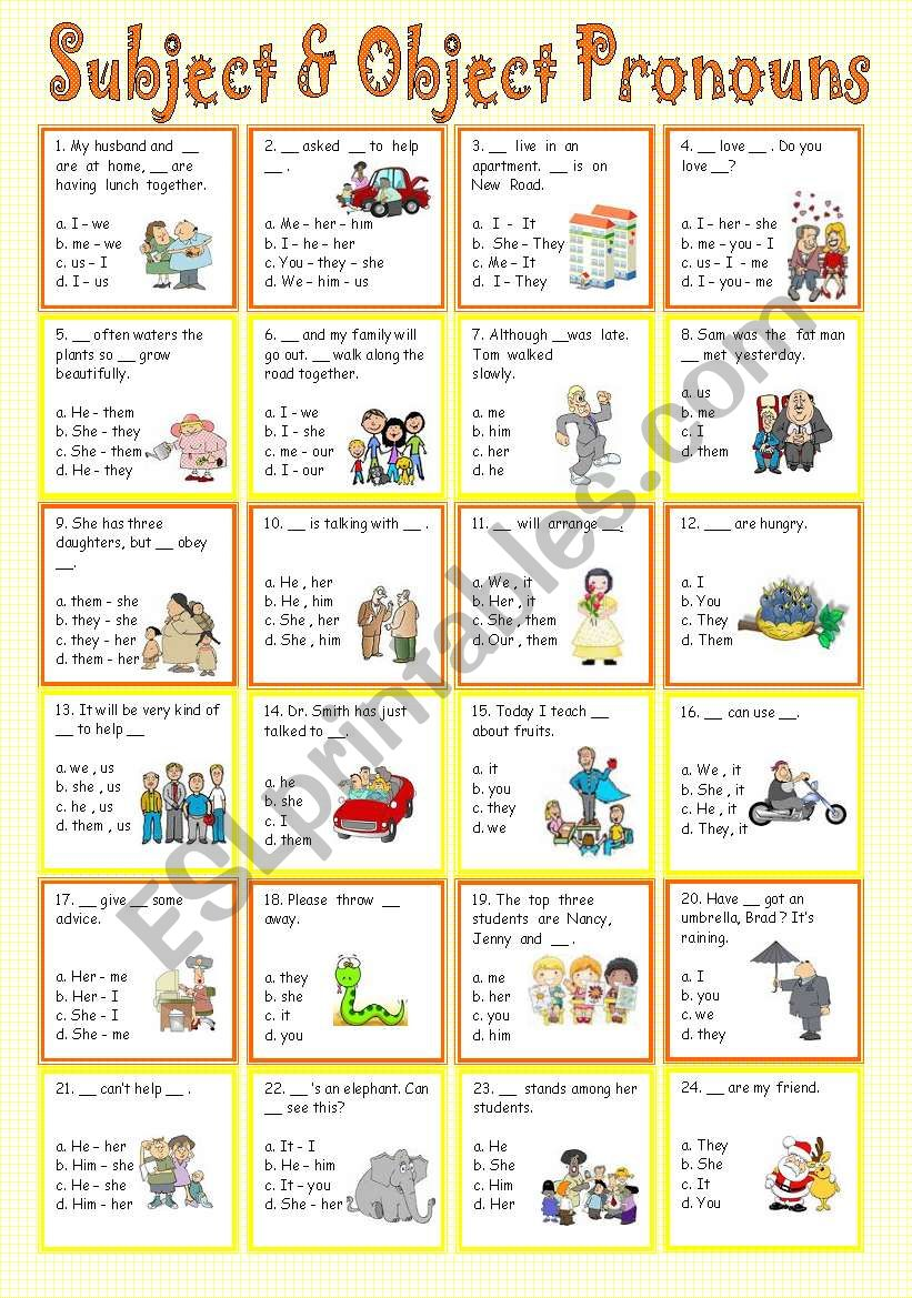 together with Object And Subject Pronouns Worksheets Subject And Object Pronouns moreover free personal pronouns worksheets in addition Subject and object pronouns worksheet   Free ESL printable besides Pronouns Worksheets   Subject and Object Pronouns Worksheets as well  as well Subject   Object Pronouns   ESL worksheet by sweetdreamja together with Subject And Object Nouns Worksheets Pronouns Worksheet Grade Pronoun additionally subject and object nouns worksheets additionally  together with Free Subject And Object Pronoun Worksheets Pronouns Worksheet Nouns besides Free Subject And Object Pronoun Worksheets Free Pronouns Possessive as well Subject And Object Pronouns Worksheet Luxury Pronoun Verb Agreement additionally  additionally  additionally . on subject and object nouns worksheets