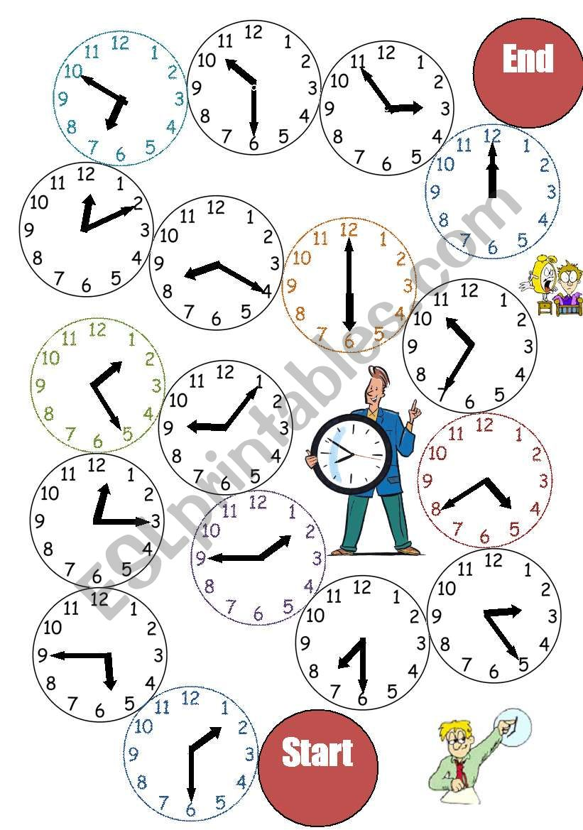 The Clock_Board Game