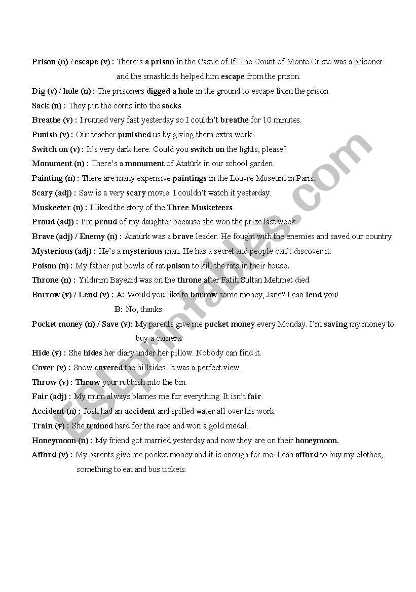 Worksheets Vocabulary Worksheets 5th Grade english worksheets 5th grade vocabulary sheet worksheet