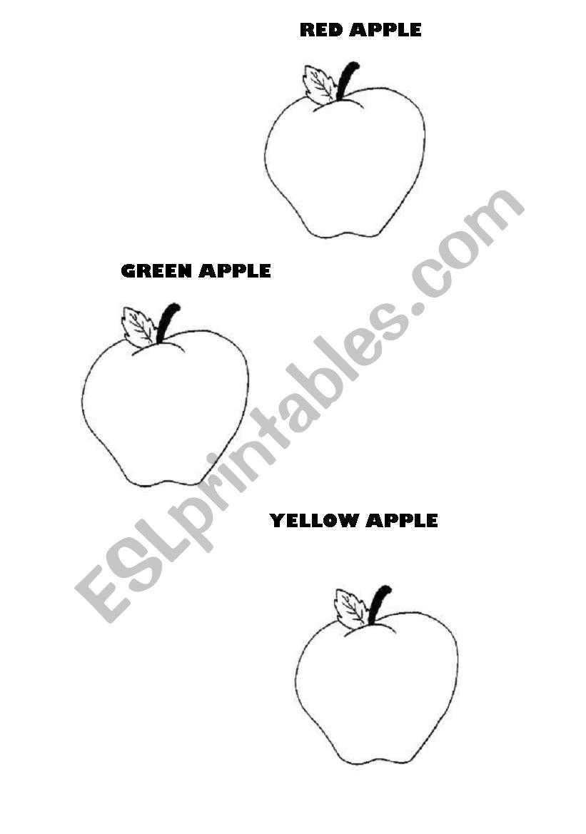 RED-GREEN-YELLOW worksheet