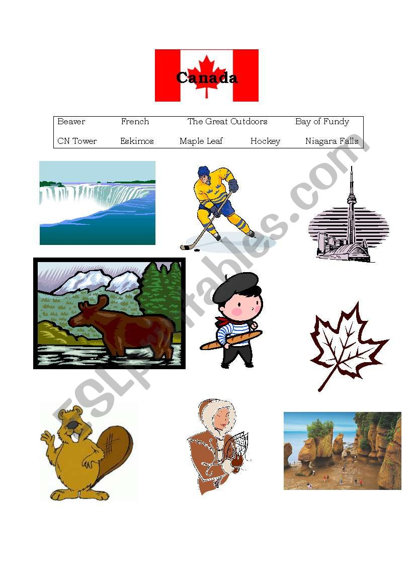 Canada´s Geography & Landmarks