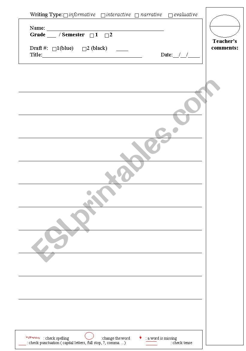 English worksheets an effective writing sheet an effective writing sheet worksheet ibookread ePUb