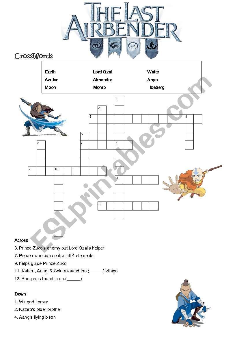 Avatar Movie (A) worksheet