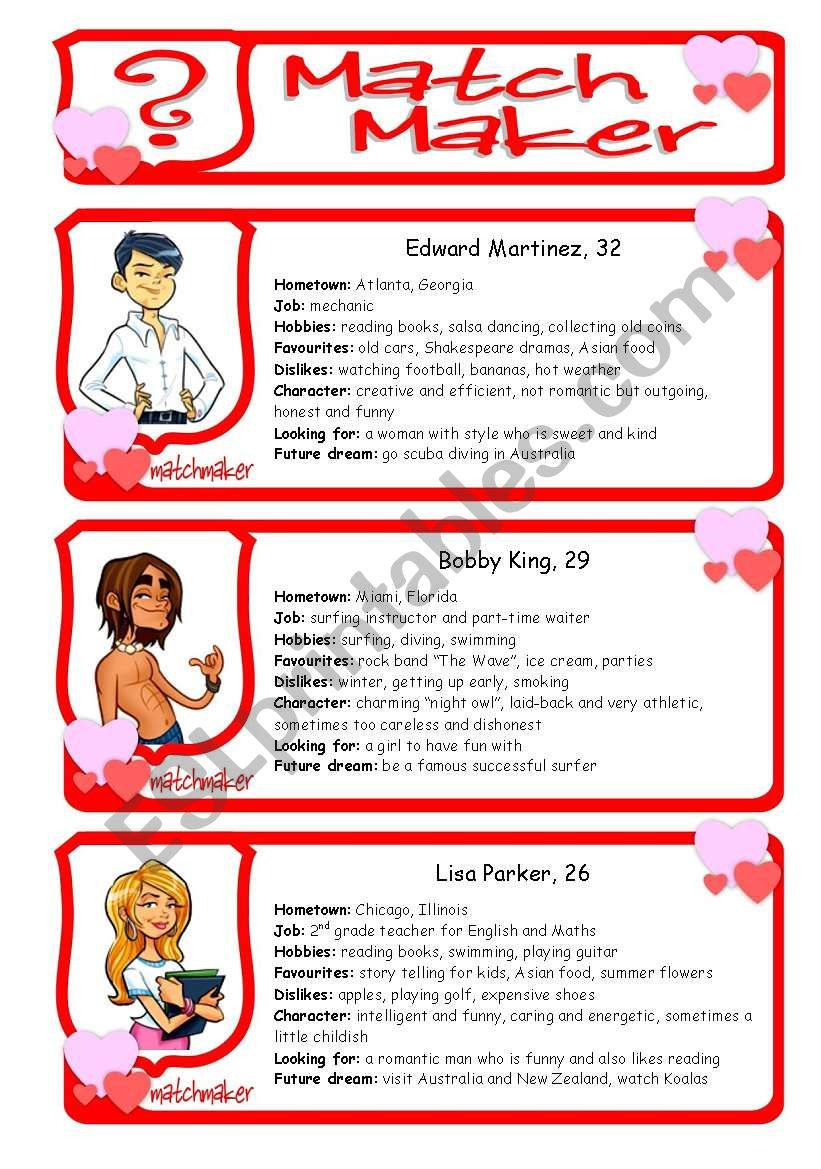 Do speed dating work