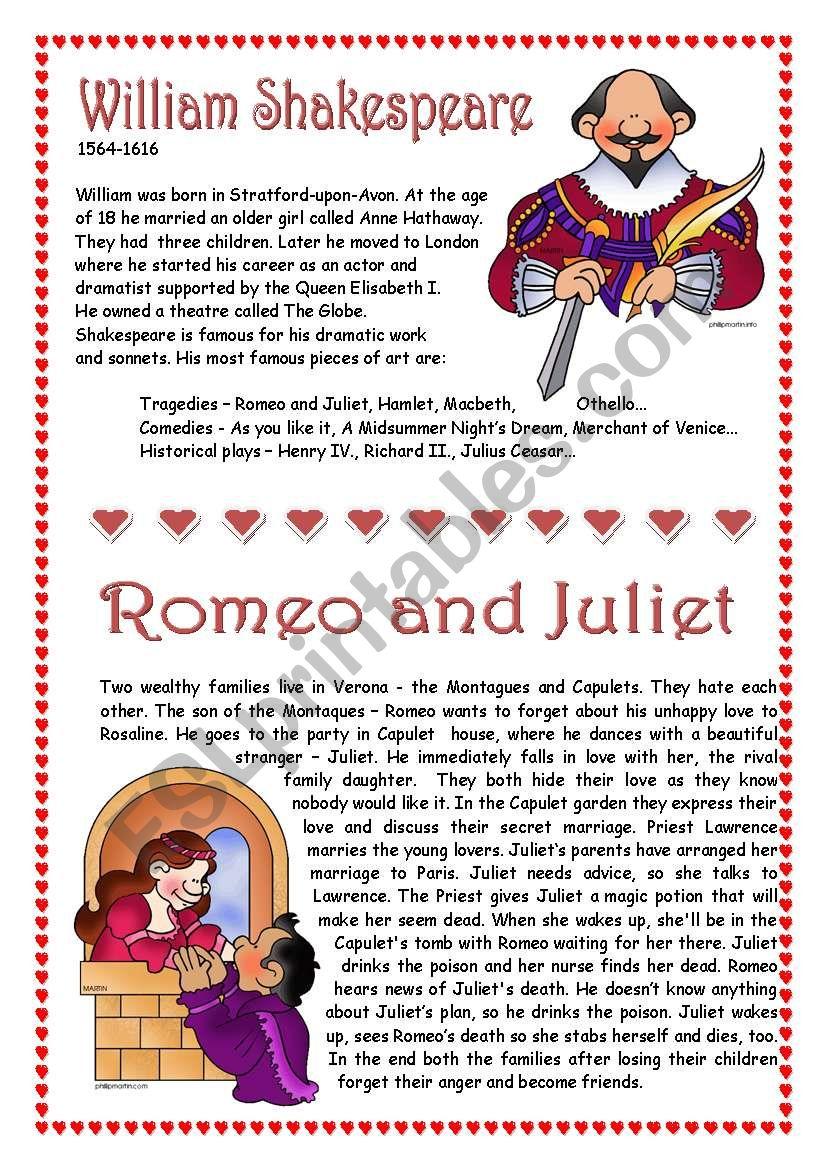 Shakespeare - Romeo and Juliet