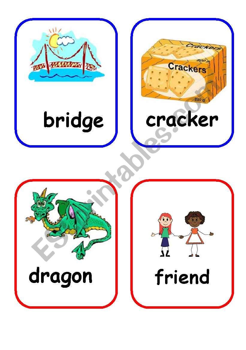 Initial consonant blends worksheets free