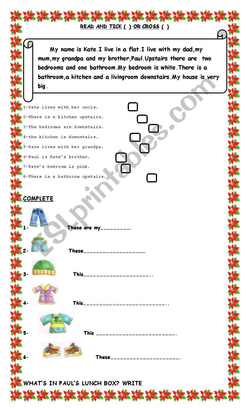 Review-3 pages ws worksheet