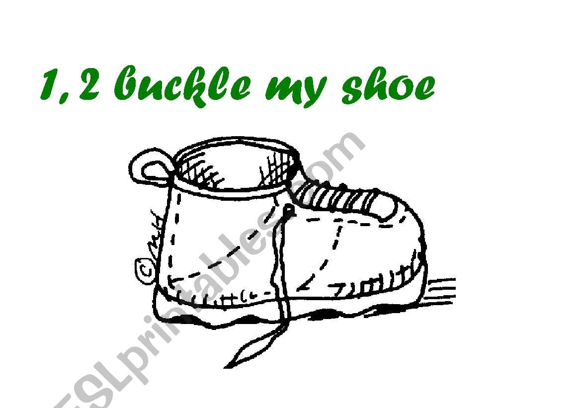 One, Two, Buckle My Shoe by Jane Cabrera | Scholastic