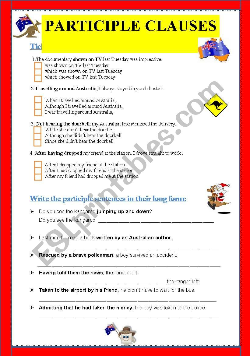relative clauses exercises pdf with key