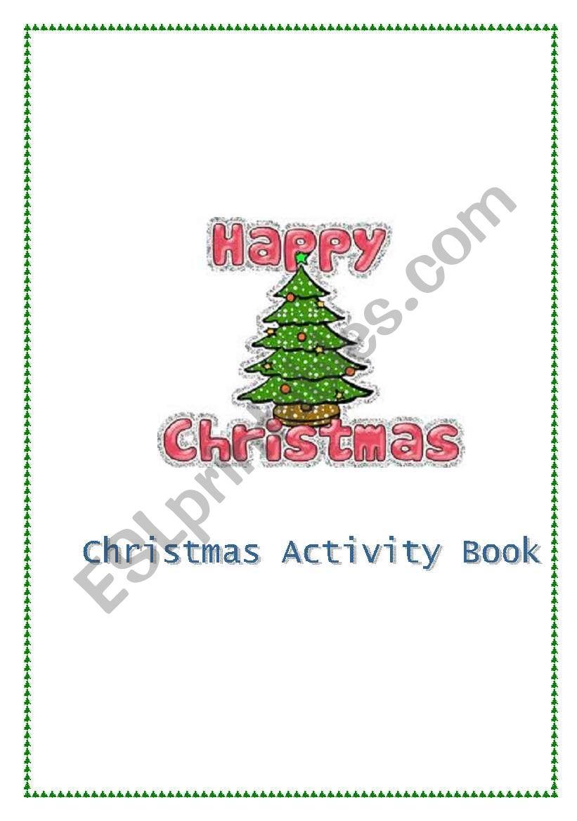 Christmas Activity Book  worksheet