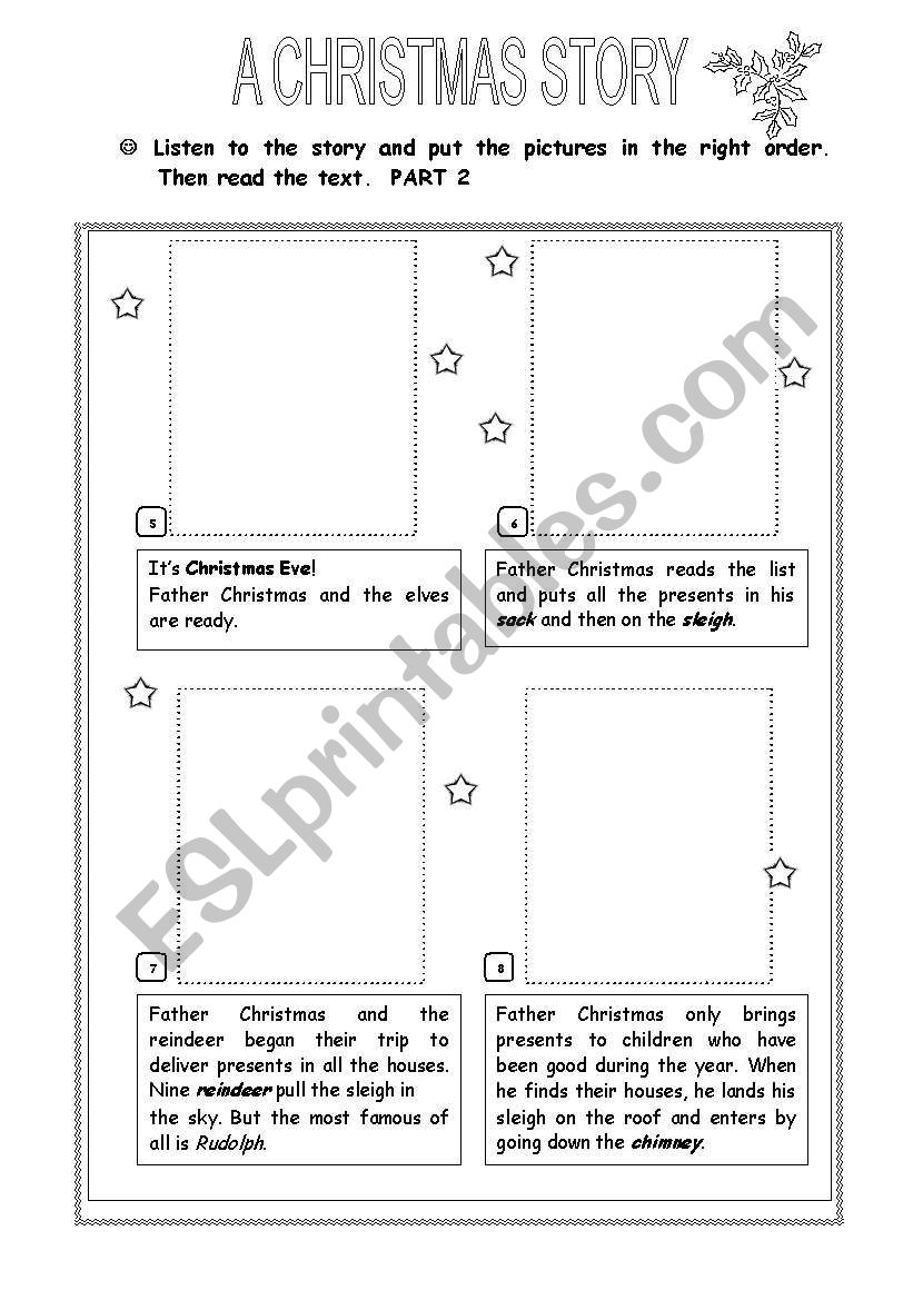 A Christmas Story - Part 2 worksheet