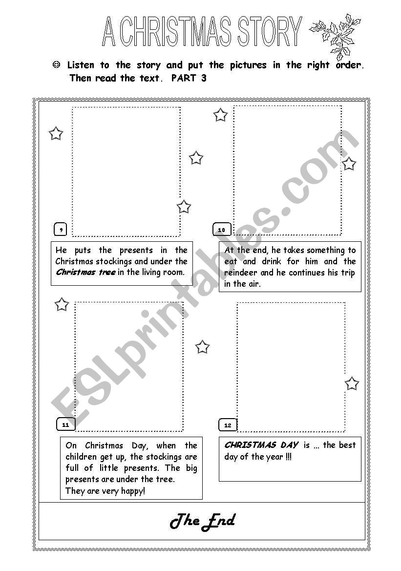 A Christmas Story - Part 3 worksheet