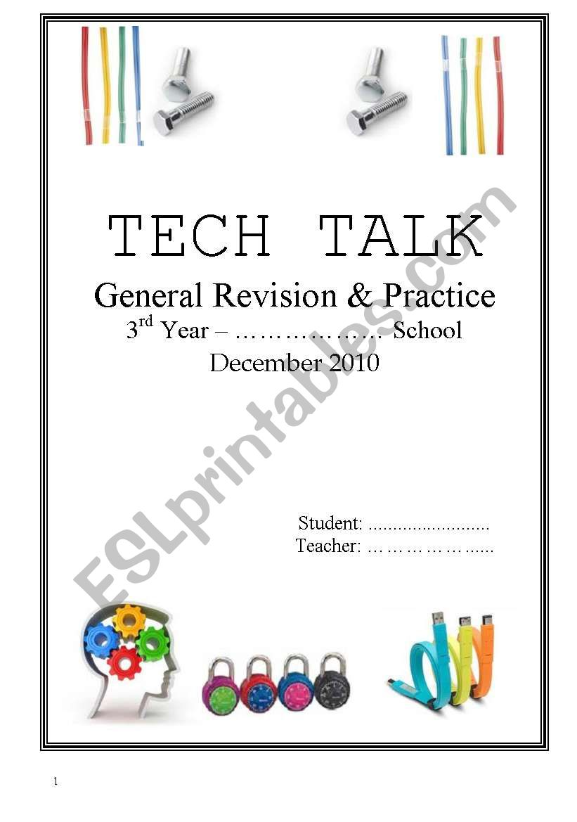 Technical English - Set 1/4 worksheet