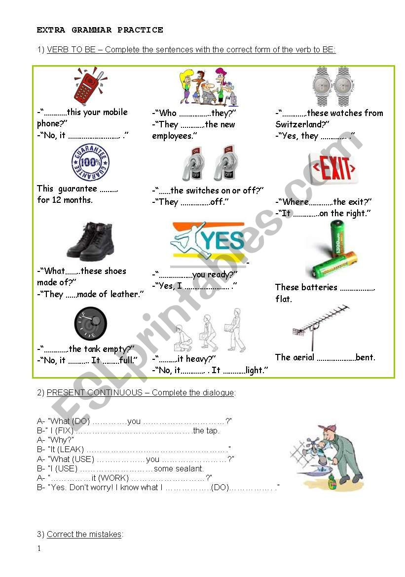 Technical English - Set 4 / 4 worksheet