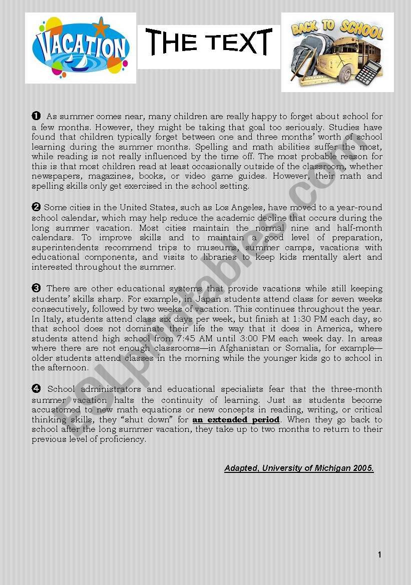 FULL TERM ENGLISH PAPER N°1 FOR 4th FORM C.CORE TUNISIAN CURRICULUM December 2010