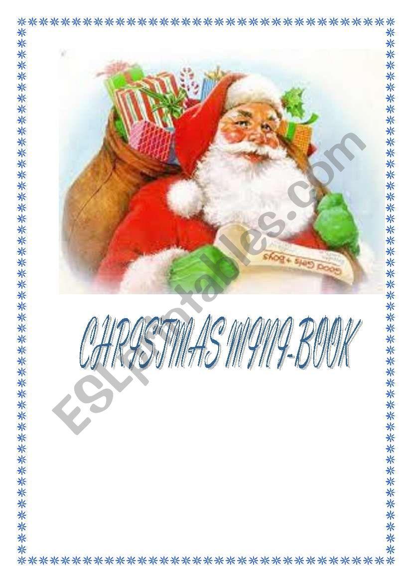 Christmas Mini Book  worksheet