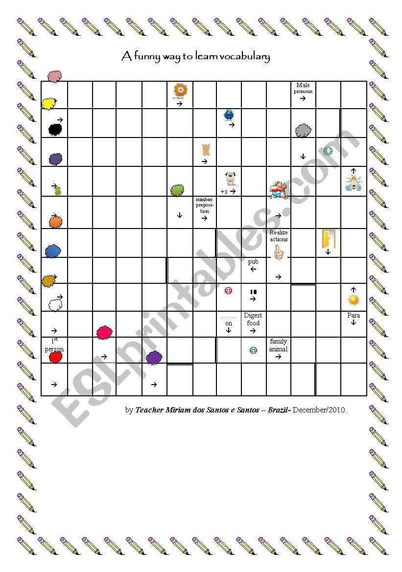Puzzle worksheet