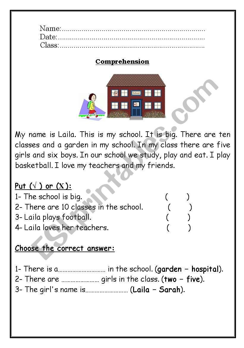 - Reading Comprehension - ESL Worksheet By Roma_ama