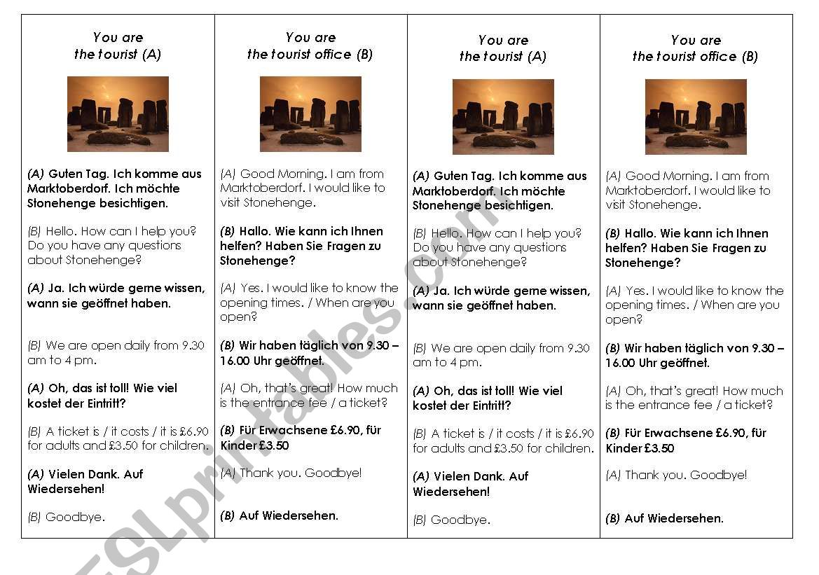 translating with topic Stonehenge