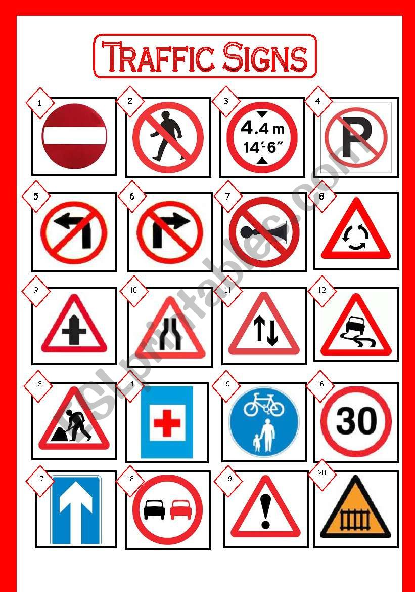 It's just a picture of Légend Printable Traffic Sign