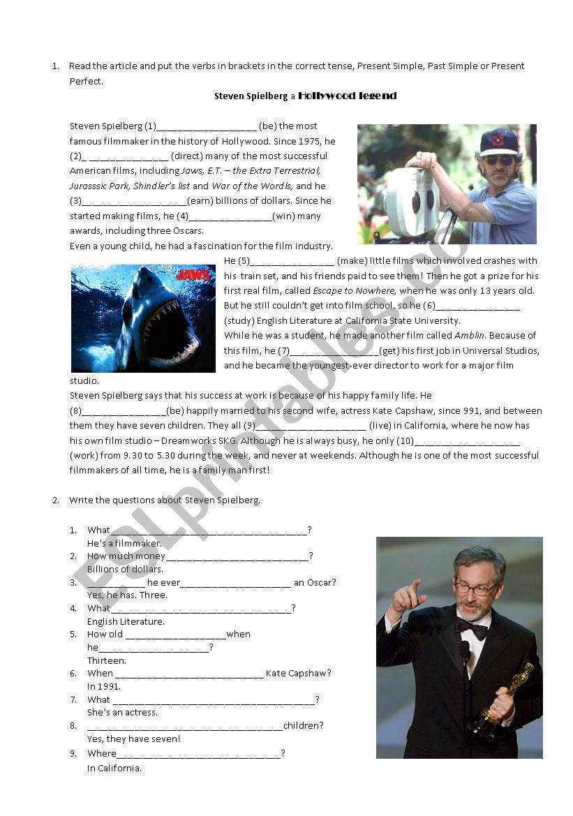 Steven Spielberg a Hollywood Legend