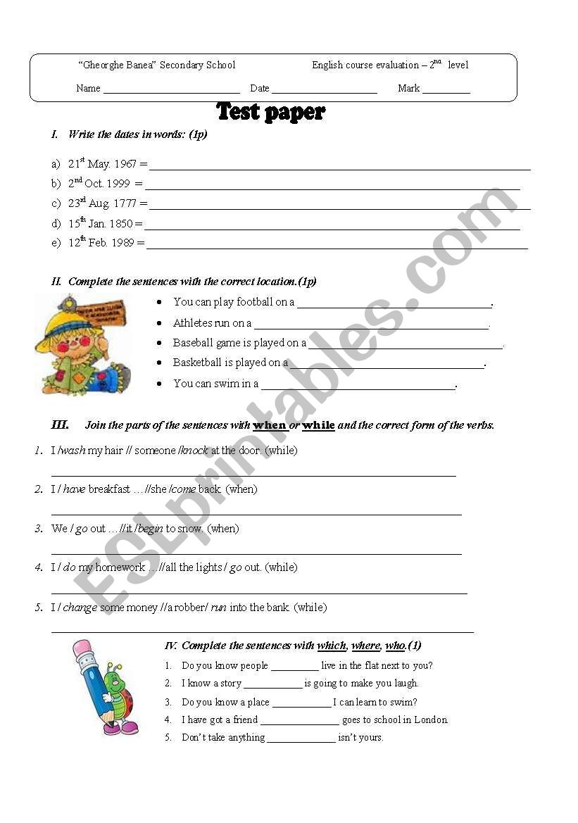 Past Simple And Continuous Esl Worksheet By Christofor
