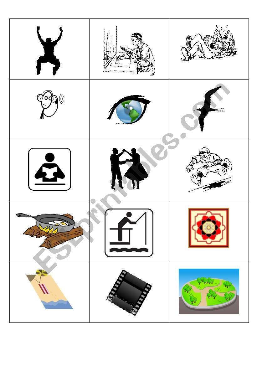 Pair pictures worksheet