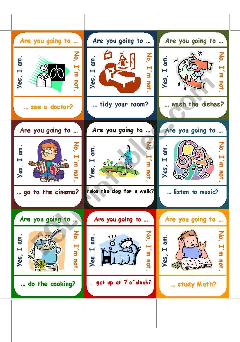 GO FISH! Are you going to ... worksheet