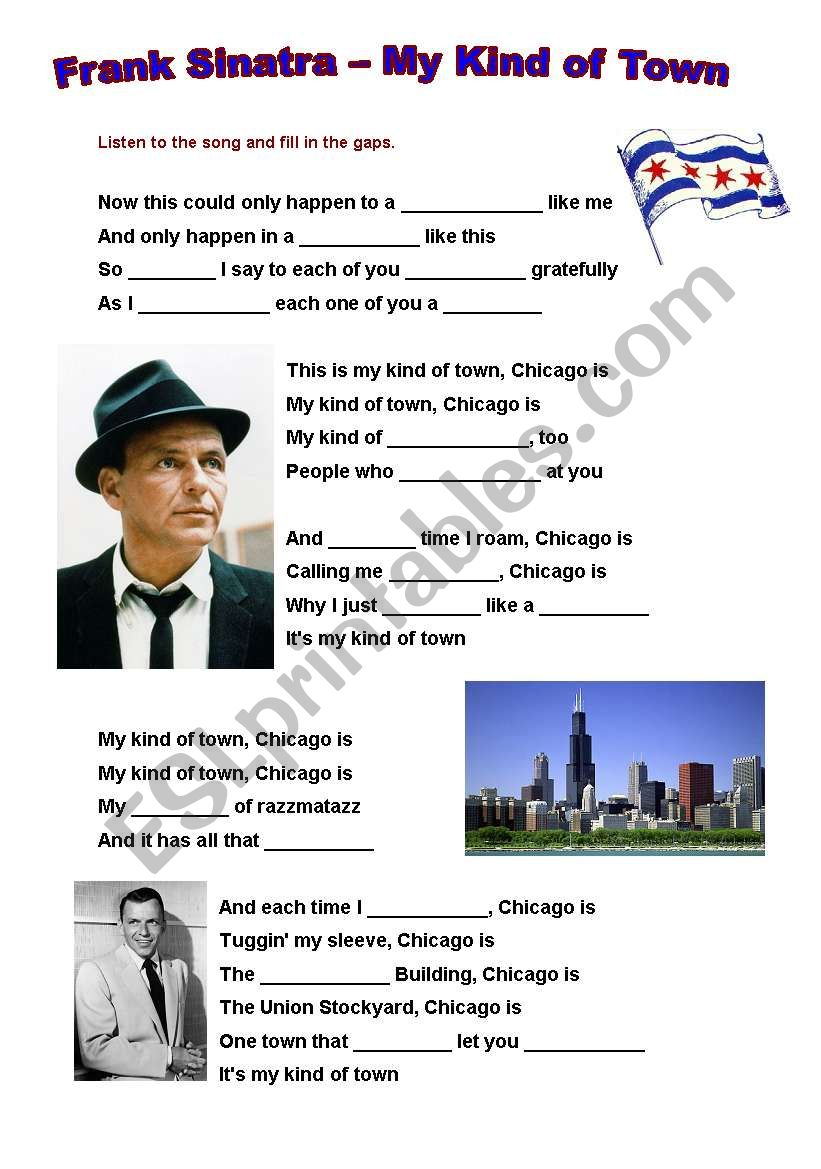 Frank Sinatra - My Kind of Town (Chicago) and short biography