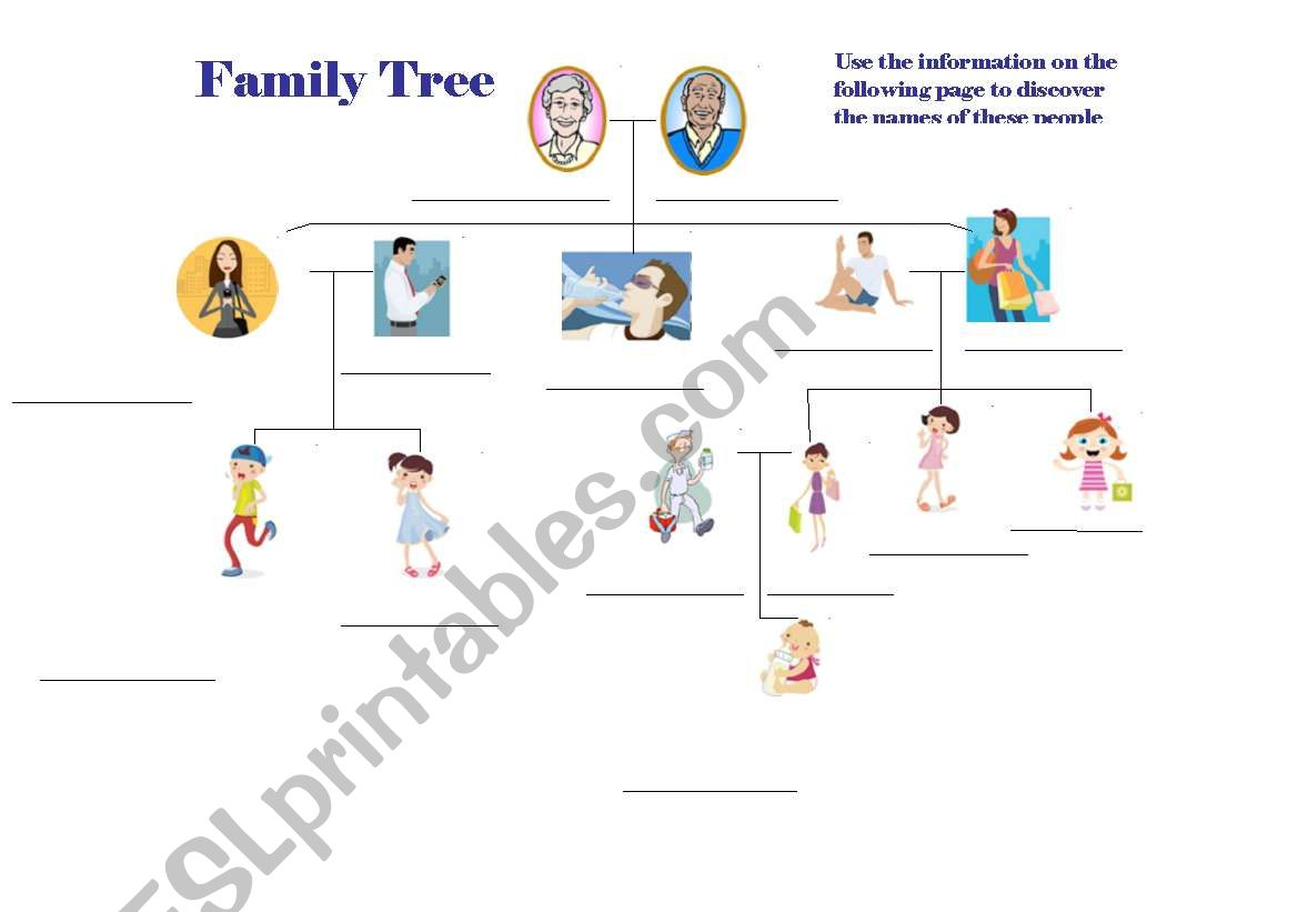 English worksheets: FAMILY TREE FILL IN THE BLANK GAME AND ... on occupations worksheet, buildings worksheet, etymology worksheet, flags worksheet, address worksheet, places worksheet, history worksheet, marriage worksheet, holidays worksheet, home worksheet, ireland worksheet, religion worksheet, ohio worksheet, research worksheet, essential nutrients worksheet, nature worksheet, language worksheet, friends worksheet, maps worksheet, pronunciation worksheet,