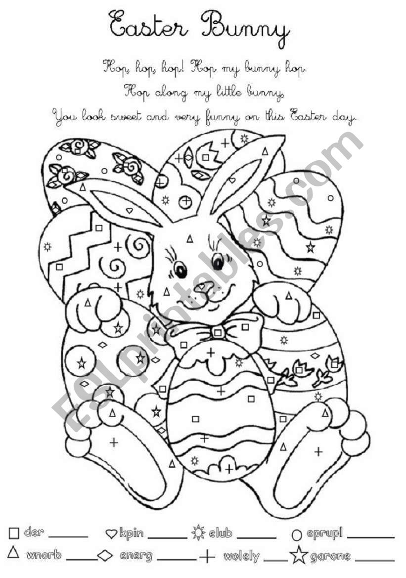 Easter Bunny for Young Learners