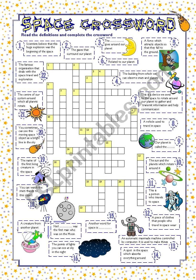 spacecraft crossword - photo #48