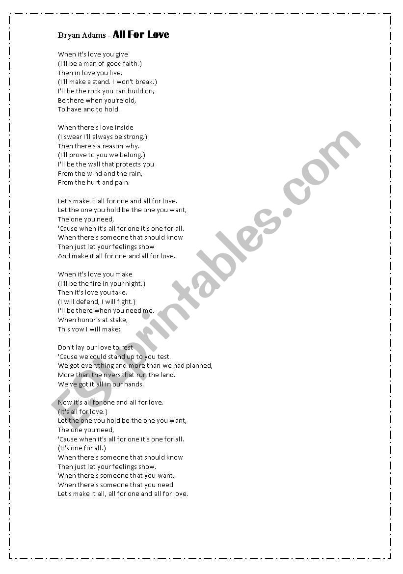 to have and to hold lyrics