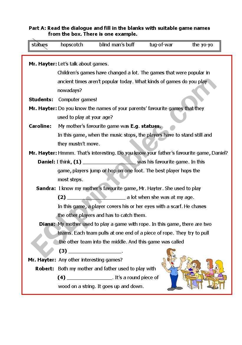 general worksheet