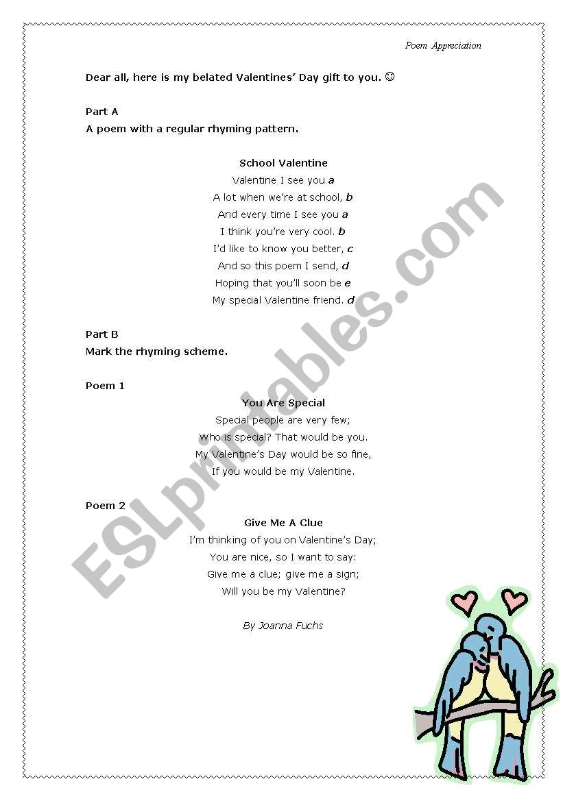 English Worksheets Parts Of Speech And Basic Sentence Structure By Poem Appreciation A text message, for example, is concise and may contain slang, an email often follows the same format as a conventional letter, and an essay is written in paragraphs. english worksheets parts of speech and