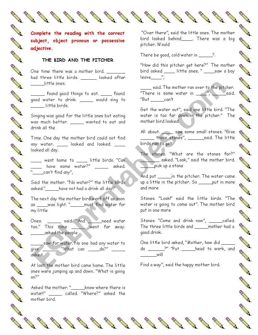 Subject and object pronoun worksheets   K5 Learning also  besides Subject and object pronouns   ESL worksheet by pogd besides Subject and Object Pronouns   All Things Grammar further Subject And Object Pronouns Free Subject And Object Pronoun furthermore Subject and Object Pronouns   All Things Grammar in addition  further Pronoun Worksheets Grade Fresh For Pronouns Know Worksheet Subject furthermore Identify Subject and Object Pronoun in a Sentence Worksheet   Turtle likewise  additionally Subject and Object pronouns Interactive worksheet further subject and object pronoun worksheets – tahiro info as well  besides Subject And Object Pronouns Worksheets Possessive Pronoun Antecedent additionally Pronouns Worksheets   Subject and Object Pronouns Worksheets additionally Subject and Object Pronouns. on subject and object pronouns worksheet