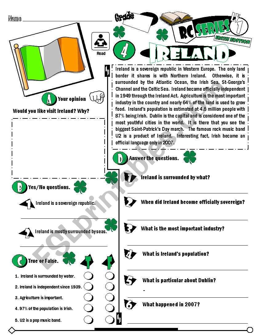RC Series_Level 01_Irish Edition_04 Ireland (Fully Editable + Key)