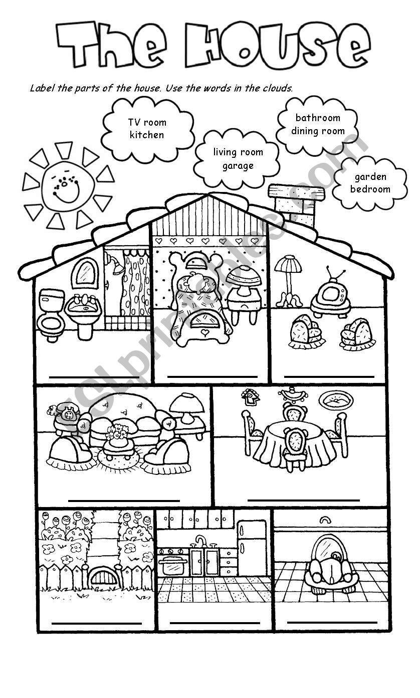 The house worksheet
