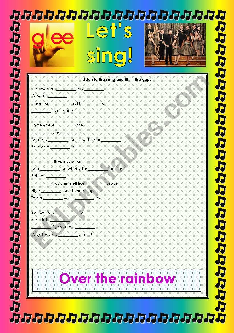 GLEE SERIES –SONGS FOR CLASS! S01E22 – ***SEASON FINALE*** – THREE SONGS – FULLY EDITABLE WITH KEY! – PART 2/2