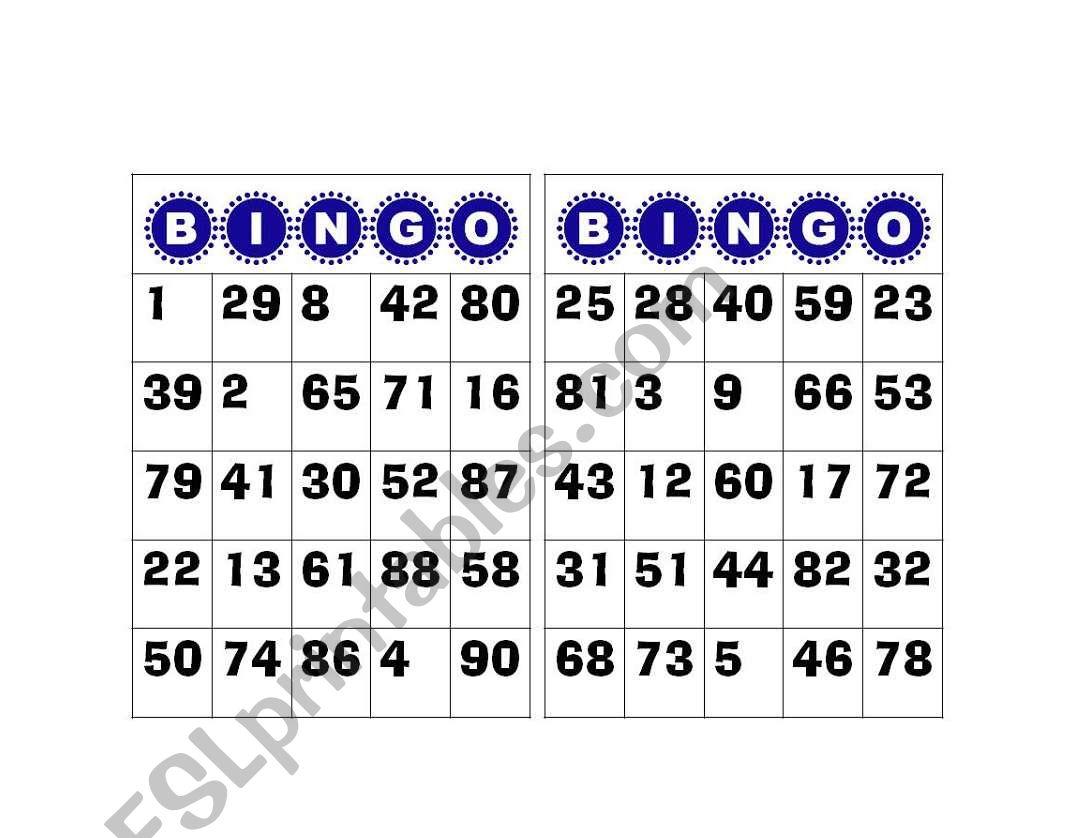It is a photo of Bingo Calls Printable throughout pdf