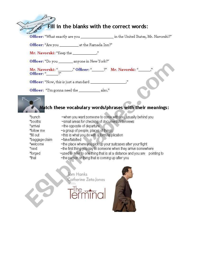 The Terminal- Movie Activity pg.2