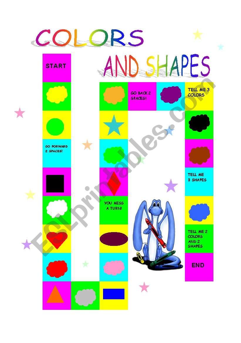 colors and shapes esl worksheet by meritxell. Black Bedroom Furniture Sets. Home Design Ideas