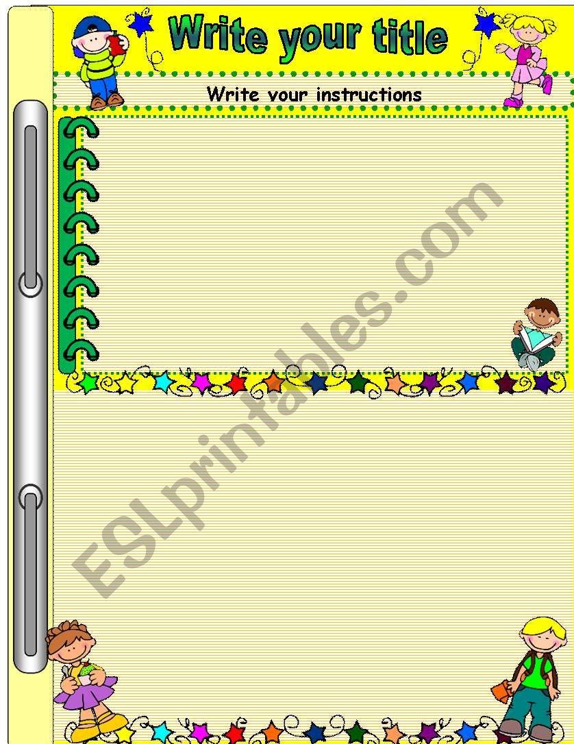 simple template  worksheet